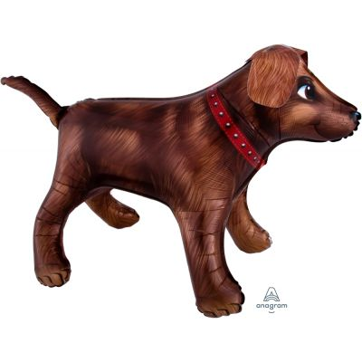 SuperShape Foil - BROWN DOG
