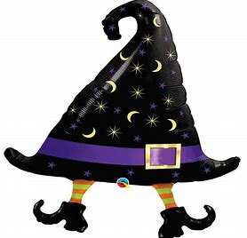 SuperShape Foil - WITCHES HAT