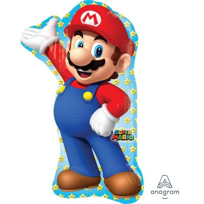 SuperShape Foil - SUPER MARIO BROTHERS - MARIO