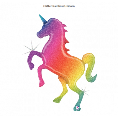 SuperShape Foil - UNICORN (GLITTER HOLOGRAPHIC)