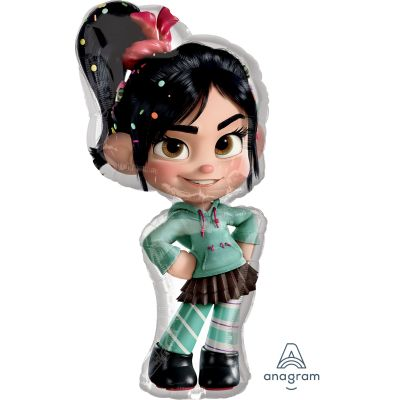 SuperShape Foil - WRECK IT RALPH - VANELLOPE