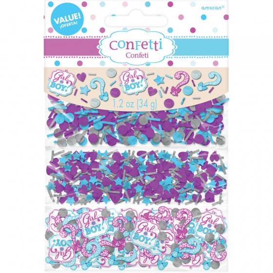 Confetti Table Scatters - BABY GENDER BOY OR GIRL