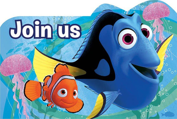 Party Invitations - FINDING DORY