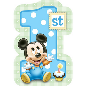Party Invitations - MICKEY'S FUN TO BE ONE