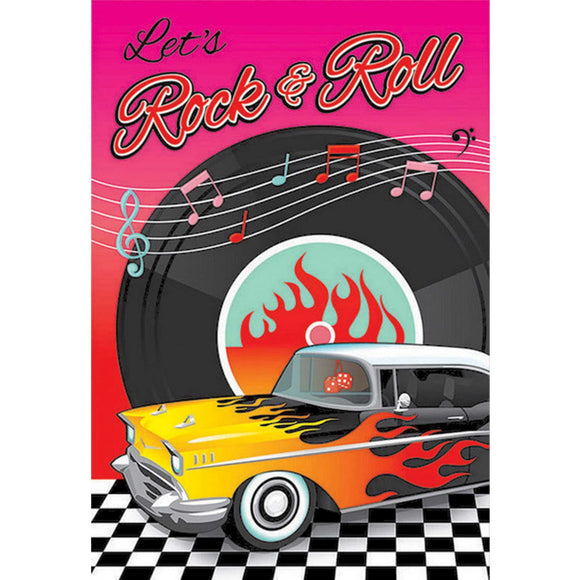 Party Invitations - ROCK & ROLL