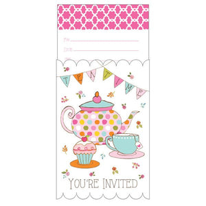 Party Invitations - TEA TIME