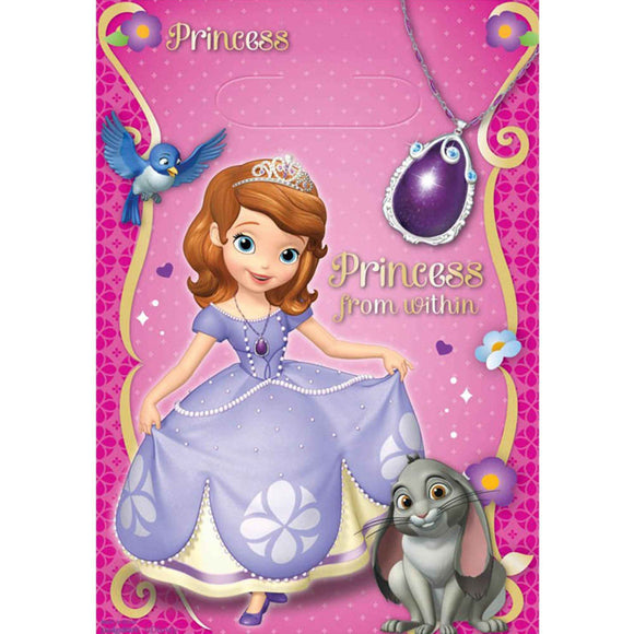 Loot Bags - SOFIA THE FIRST