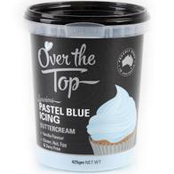 Over The Top Icing 425gm - PASTLE BLUE