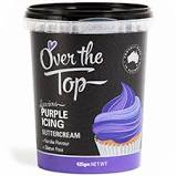 Over The Top Icing 425gm - PURPLE