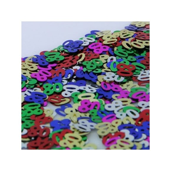 Confetti Table Scatters - MULTI COLOURED 80