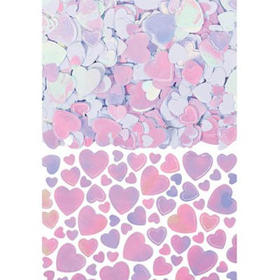 Confetti Table Scatters - IRIDESCENT HEARTS