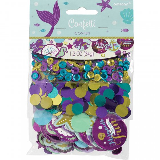 Confetti Table Scatters - MERMAID