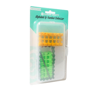 Sugar Crafty Embosser Set - ALPHABET & NUMBERS