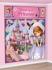 Scene Setter Wall Decorating Set - SOFIA THE FIRST