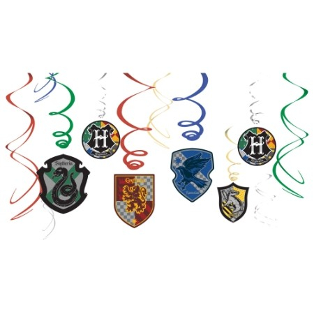Swirl Decorations - HARRY POTTER