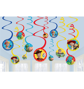 Swirl Decorations - TOY STORY