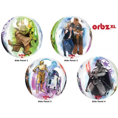 ORBZ Balloon Bubbles - STAR WARS