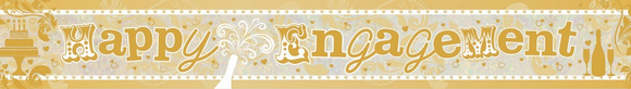 Banner - Happy Engagement (Holographic)