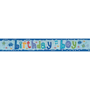 Banner - Birthday Boy (Holographic)