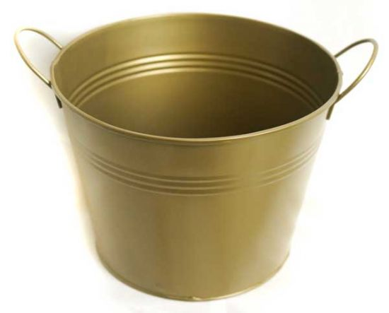 GOLD Pail / Bucket