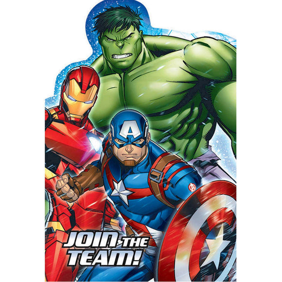 Party Invitations - AVENGERS
