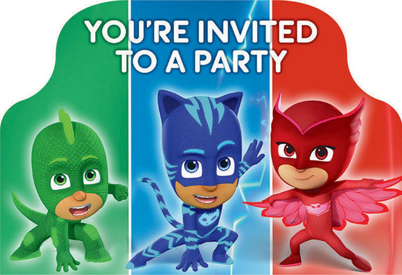 Party Invitations - PJ MASK