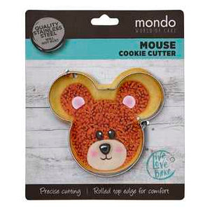 Mondo Cookie Cutter - MOUSE