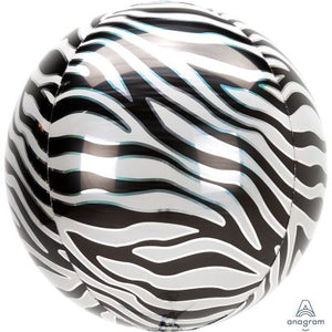ORBZ Balloon Bubbles - ZEBRA