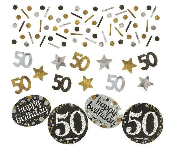 Confetti Table Scatters - SPARKLING 50