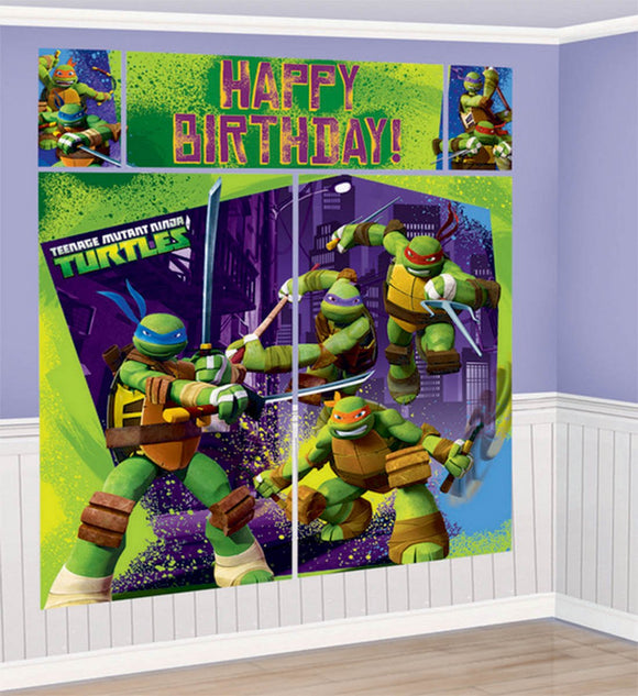 Scene Setter Wall Decorating Set - TMNT