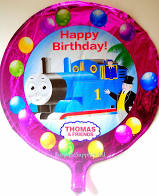 45cm Foil Balloon - THOMAS THE TANK