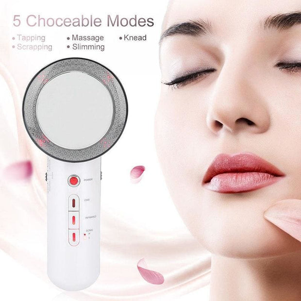 3 In 1 Ultrasonic Cellulite Remover and Massager - Health & Beauty