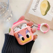 3D Cute Cartoon Apple Airpods Case - A03 - Earphone Cases