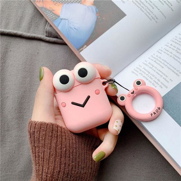 3D Cute Cartoon Apple Airpods Case - A04 - Earphone Cases