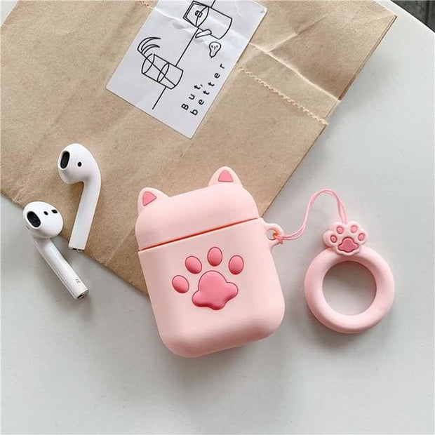 3D Cute Cartoon Apple Airpods Case - A05 - Earphone Cases