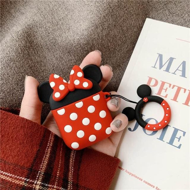 3D Cute Cartoon Apple Airpods Case - A13 - Earphone Cases