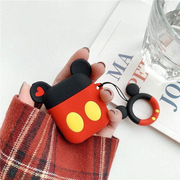 3D Cute Cartoon Apple Airpods Case - A14 - Earphone Cases