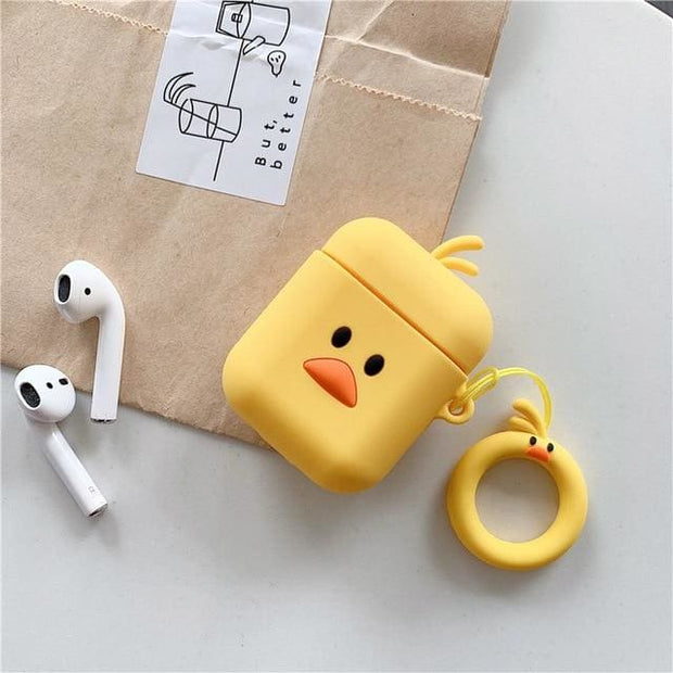 3D Cute Cartoon Apple Airpods Case - A15 - Earphone Cases