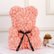 Adorable Roses Teddy Bear - Indy Pink 40cm - Christmas