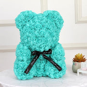 Adorable Roses Teddy Bear - Tiffany 40cm - Christmas