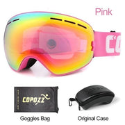 Anti-fog Ski Goggles - Frame pink with box - Cool Gadgets