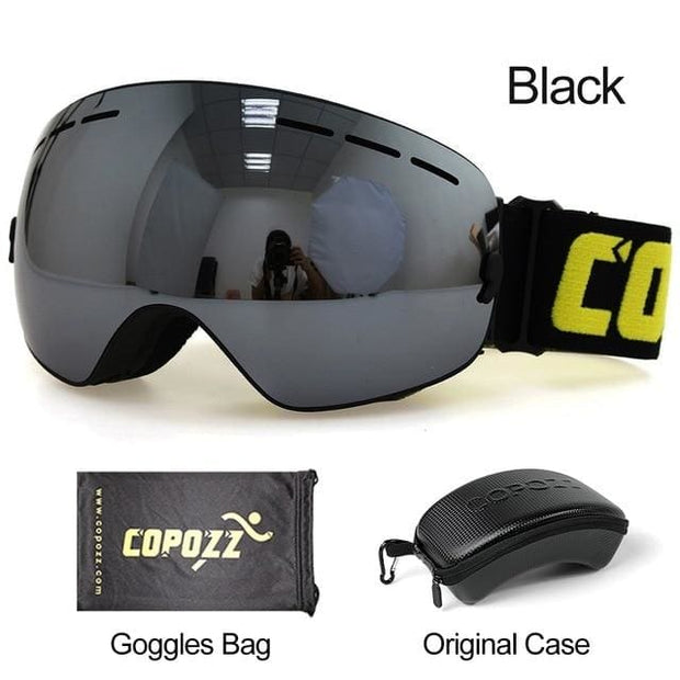 Anti-fog Ski Goggles - Lens silver with box - Cool Gadgets