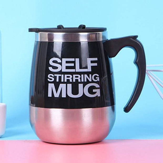 Automatic Magnetic Self Stirring Mugs - Black / 401-500ml - Cool Gadgets