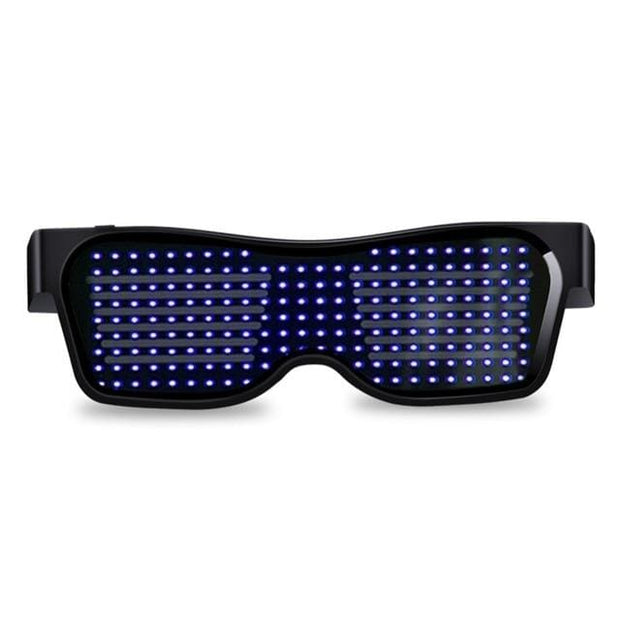 Bluetooth Customized Led Party Glasses - Blue / Manual Switch - Cool Gadgets