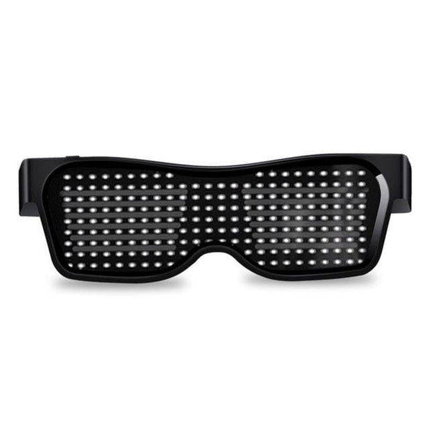 Bluetooth Customized Led Party Glasses - White / Manual Switch - Cool Gadgets