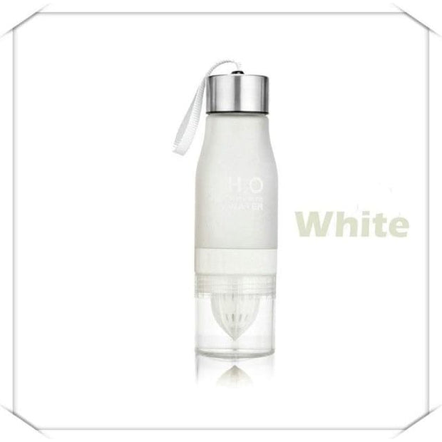 Fruit Infuser Water Bottle - 0.65L / White - Cool Gadgets