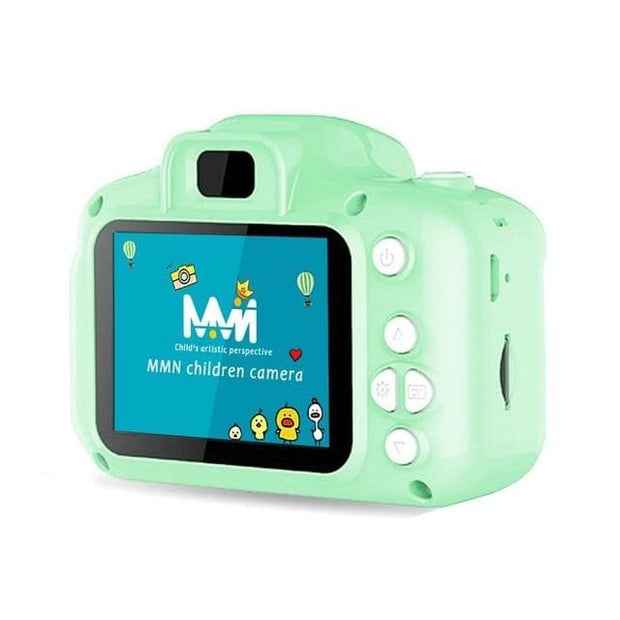 Kids Mini Digital Camera - Green / with 16GB TF Card - Gifts & Toys