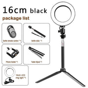 LED Light Kit for Photography and Video - Black - Cool Gadgets