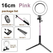 LED Light Kit for Photography and Video - Pink - Cool Gadgets