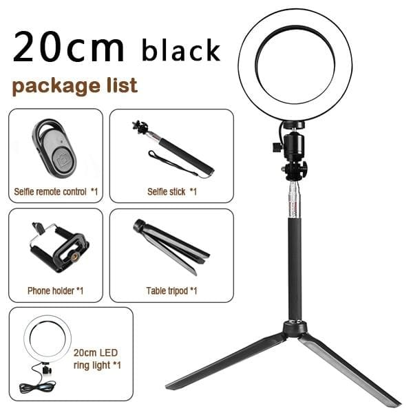 LED Light Kit for Photography and Video - Silver - Cool Gadgets